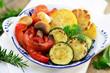 Gemüse Grillen Kräuter