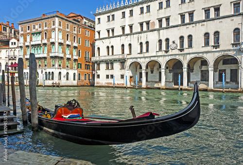 Fotografie, Obraz  Gondola in Venice