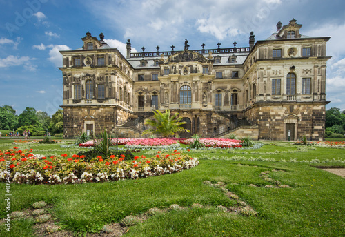 Palais Grosser Garten In Dresden Buy This Stock Photo And Explore