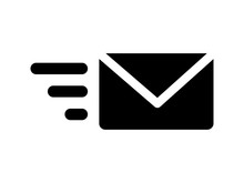 Send Email Message Flat Icon F...