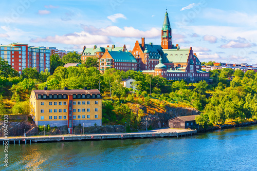 Photo  Architecture of Stockholm, Sweden