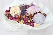 Potpourri / Potpourri In A Shell Bowl