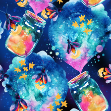 Abstract Fairy Tale Background...