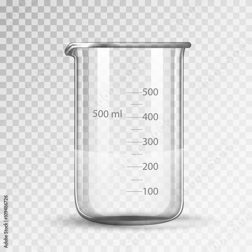 laboratory glassware or beaker Wallpaper Mural