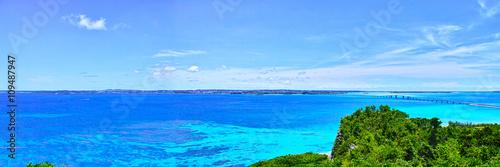 伊良部島 牧山展望台からの風景