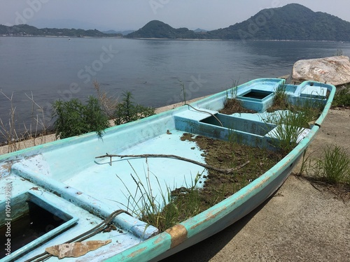 Foto op Aluminium Arctica launched boat