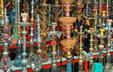 Beautiful Colorful Hookahs
