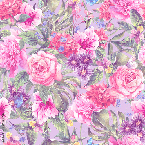 lato-rozowy-reka-rysunek-akwarela-kwiatowy-wzor