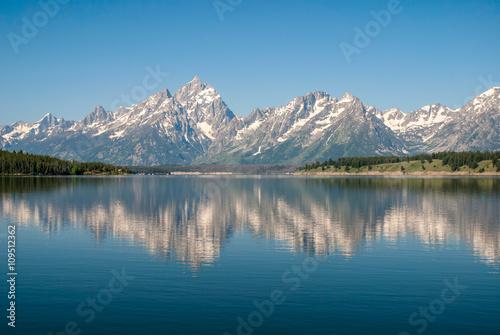 Wall Murals Alps Jackson Lake, Grand Teton National Park, Wyoming, USA