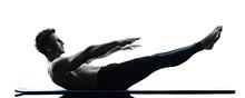 Man Pilates Exercises Fitness ...