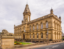 Saltaire, West Yorkshire, UK. 30th August 2016. Victoria Hall, Saltaire