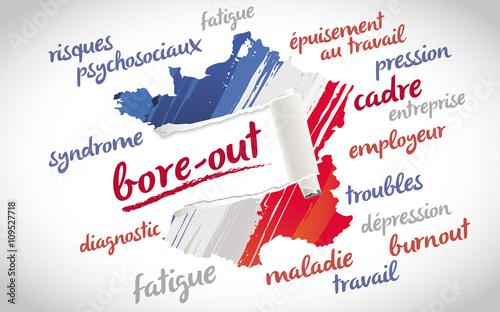 Fotografie, Tablou bore out, bore-out