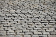 granite gray cobblestone pavement abstract background