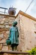 Statue dans les rues de Tossa de Mar
