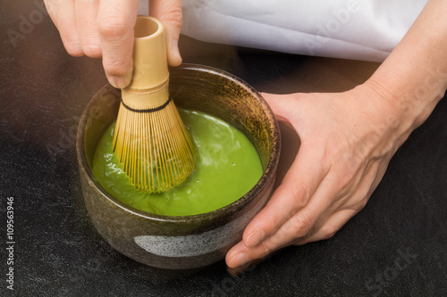 Fotografie, Obraz  茶道の作法 style beauty of tea ceremony Japan