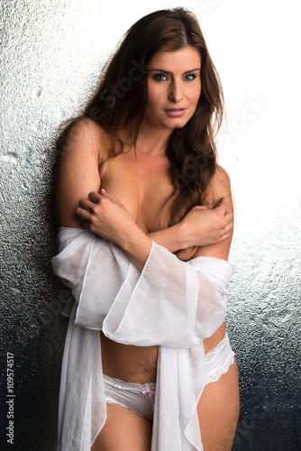 Fotografie, Obraz  White robe