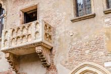 Juliet's Balcony, Verona, Italy.