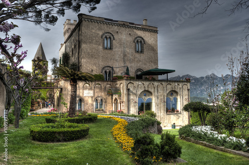 Fotografia  famous Villa Cimbrone in Ravello on the Amalfi Coast