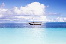 Tropical Seascape, Zanzibar Is...
