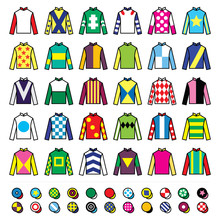 Jockey Uniform - Jackets, Silk...
