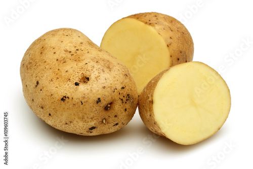 Potato group and half potatoes