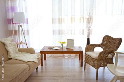 Fototapety, obrazy: Modern living room interior.