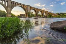 Richmond Railroad Bridge Lit B...