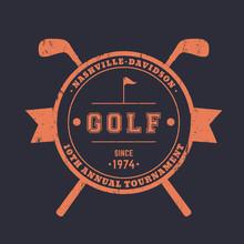 Golf Tournament Vintage Round ...
