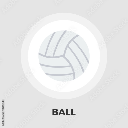 Photo Volleyball flat icon