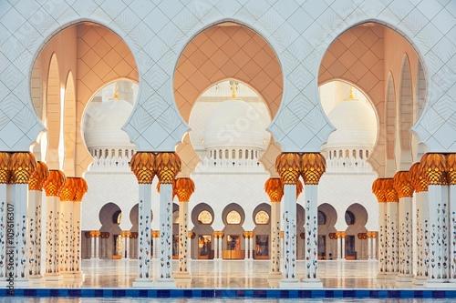 Canvas Prints Abu Dhabi Mosque in Abu Dhabi