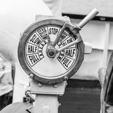 Engine Room Telegraph,  Old Steamship