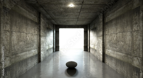 Rugby Ball Sports Stadium Tunnel