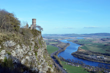 Kinnoull Hill And The River Tay, Perth, Scotland