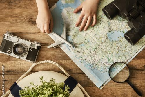 Obraz Go on an adventure! - fototapety do salonu