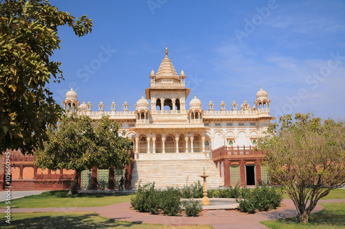 Photo  Jaswant Thada mausoleum in Jodhpur, Rajasthan, India