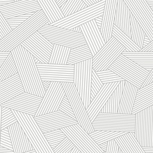 Seamless Pattern With Abstract Line Ornament