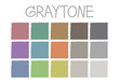 Graytone Color Tone without Code Vector Illustration