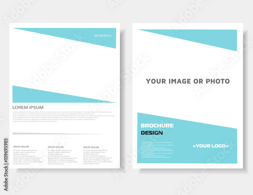 brochure leaflet annual report magazine cover poster template