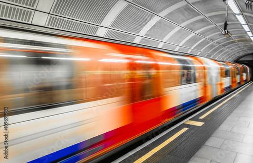 Fotografia, Obraz  London Tube