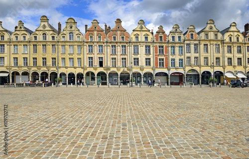 Heroes Square in Arras Wallpaper Mural