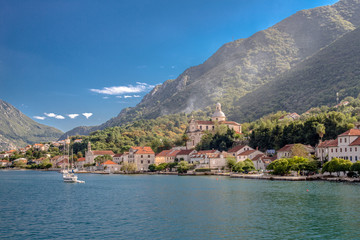 Bay of Kotor in Montenegro, Adriatic sea