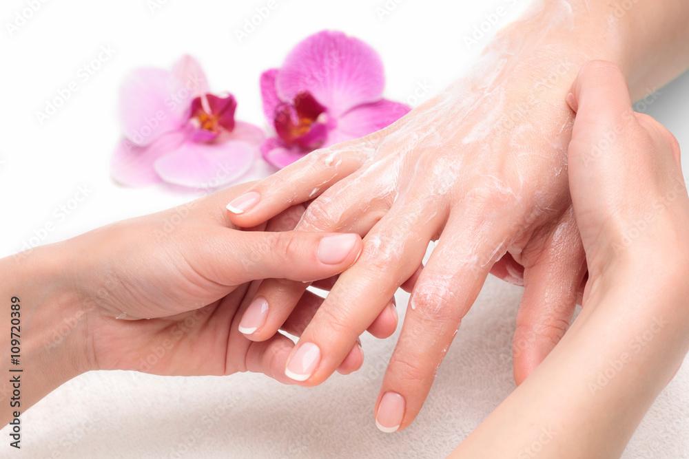 Fototapeta Masaż dłoni