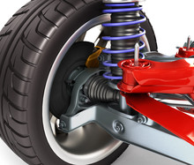 Car Suspension Separately From...