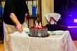 celebration the anniversary of 50 years restaurant cake