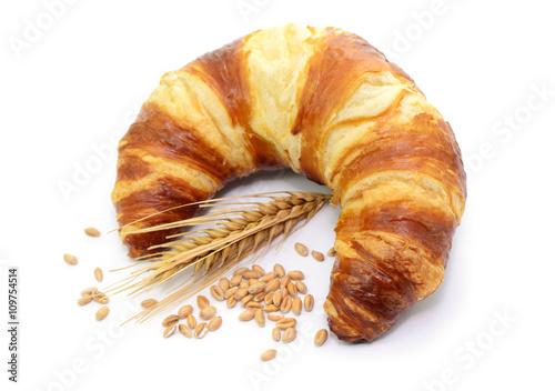Foto Croissant Ähre Getreide