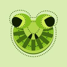Ornate Frog Head
