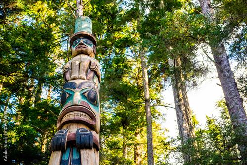 Valokuva Alaska Native Totem Sitka Alaska