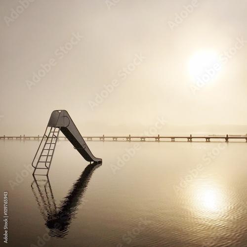 Slide, Kralingse Plas, Rotterdam, Holland