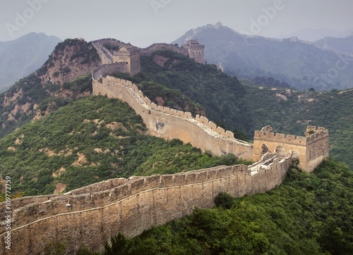Muraille de Chine Watchtowers along Great Wall of China