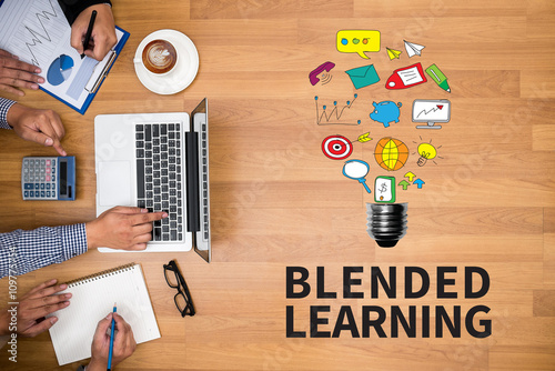 Photo  BLENDED LEARNING